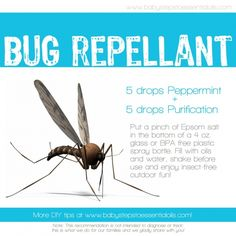 Baby Steps to Essential Oils - DIY Insect Repellant