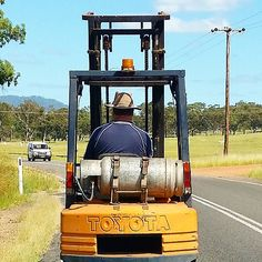 It's a Camry with a day job really #forklift