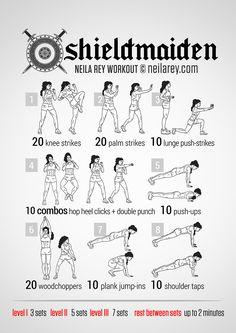 Shieldmaiden Workout