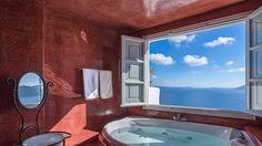 Enjoy the amazing view in Santorini Greece