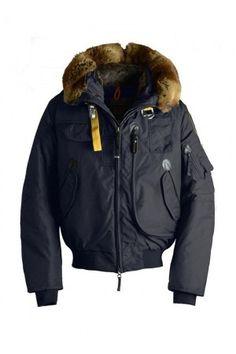 2013 Hot Sall Parajumpers Gobi Eco Bomber Down Jacket Men's Navy | Parajumpers Jackets Outlet | Parajumpers Parkas On Sale | parkas-outlet.com
