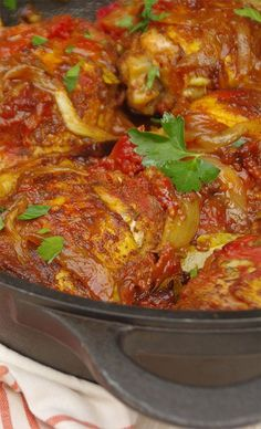 Traditional DURBAN CHICKEN CURRY--If you like South African style curry this dish is insane...., ,