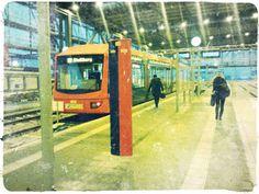 Endlich halten die Züge in Karl-Marx-Stadt auch im Bahnhof