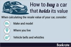 How to buy a car that truly holds its value - if you're in the market for a used car, you should read this, just in case you have to sell it down the line!