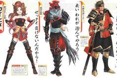 Samurai warriors Pokemon conquest