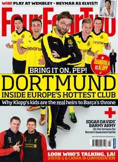 In the new issue: Inside Borussia Dortmund, Gerrard & Carra in conversation - FourFourTwo's Inside Track - FourFourTwo