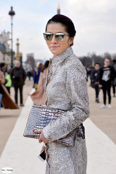 Tina Leung / Les Tuileries / Paris