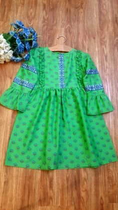 Girls Dresses Sewing, Stylish Dresses For Girls, Dresses Kids Girl, Fancy Dress Design, Stylish Dress Designs, Baby Girl Frocks, Frocks For Girls, Baby Frocks Designs, Kids Frocks Design