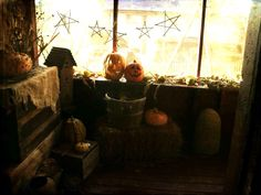 Halloween at Candy Looker's spooky ol' house on the hill.