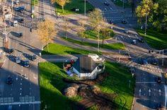 Paviljoen pOp // Westplein Utrecht
