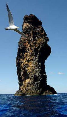 La Canna of Filicudi, Eolie islands, Sicily www.nesos.org #filicudi #sicilia #sicily #eolie
