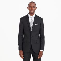 J.Crew - Ludlow suit jacket with double vent in Italian wool