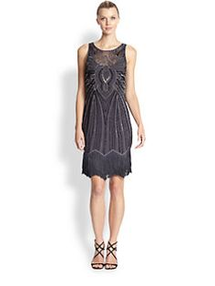 Aidan Mattox - Beaded Shift Dress