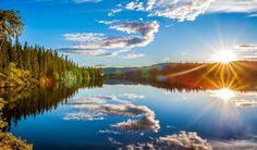 Mirror of Leirsjøen in Trondheim by Aziz Nasuti on Beautiful World, Beautiful Places, Beautiful Pictures, Natural Mirrors, Norway Nature, Trondheim, Amazing Nature, Nature Photos, That Way