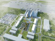 Galeria de Twelve Architects projetará aeroporto para a Copa de 2018 na Rússia - 4