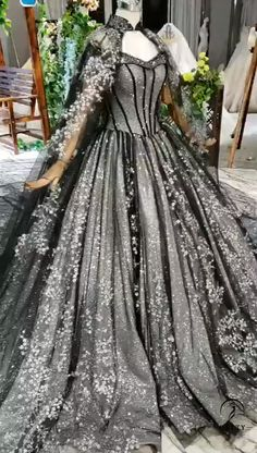 Ostty wedding gowns Party Dress Customized - Source by littleWitchLolita - Queen Wedding Dress, Black Wedding Gowns, Black Ball Gowns, Queen Dress, Backless Wedding, Colored Wedding Dresses, Gown Wedding, Lace Wedding, Ball Gowns Evening