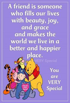 Pooh bear teddy bear and other cute stuffs pin Eeyore Quotes, Winnie The Pooh Quotes, Winnie The Pooh Friends, Bff Quotes, Disney Winnie The Pooh, Disney Quotes, Friendship Quotes, Genuine Friendship, Qoutes