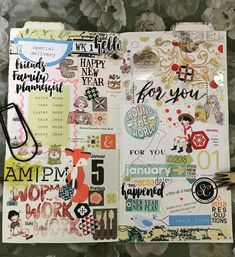 "85 Likes, 1 Comments - Nurul Ili Saharudin (@nurul_ilis) on Instagram: ""Week 1. Im keeping up with my TN style. Will using TN as weekly creative journal. While A5 notebook…"""