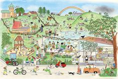El libro del verano (Rotraut Susanne Berner)