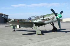 Last surviving Fw-190D-13 at the FHC.