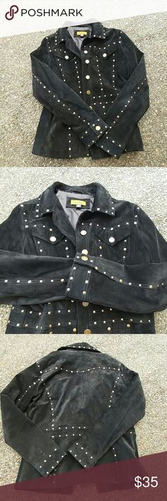 Sale today,,,,Suede jacket Worn with no damage real suede in Suede Jackets & Coats Blazers