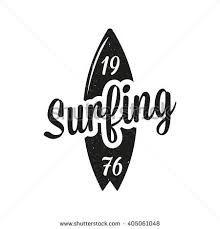 Resultado de imagen de vintage surf logos