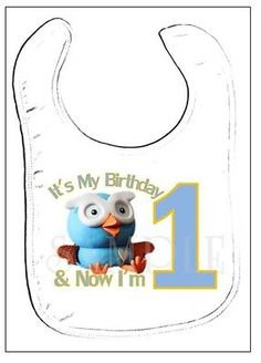 Hoot  First Birthday Transfer - 1st Birthday Party (Giggle  Hoot)
