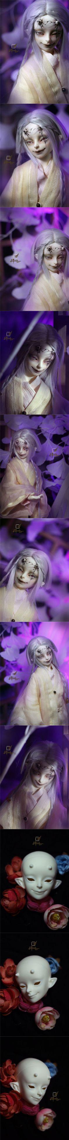球体関節人形 白華 鬼の息子 男 44cm