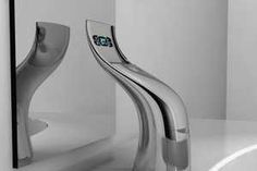 water-weaving faucet - The refreshing feeling of aqua rinsing over your skin could be enhanced by this water-weaving faucet. Instead of ejecting liquid straight in a down...