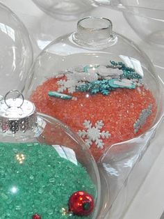 Christmas Sensory and I Spy Ornaments | Activities For Children | Seasonal, Sensory Activities | Play At Home Mom