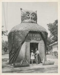 Vintage folk art owl.