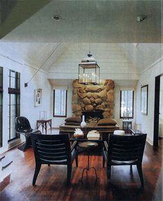 William Atkinson's log cabin inside