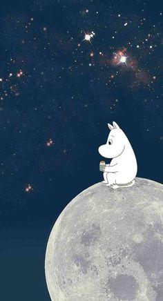Moomin Wallpaper, Cartoon Wallpaper, Anime Scenery Wallpaper, Iphone Background Wallpaper, Tree Illustration, Illustrations, Les Moomins, Cartoon Photo, Beautiful Nature Pictures