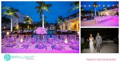 Samantha and Nick's destination wedding at Gansevoort Turks and Caicos with Brilliant Studios