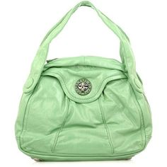 Bring shades of mint into your accessories - clever!