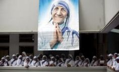 Mother Teresa to be canonized Sept. 4; pope sets other sainthood dates  Pope Francis declaring the dead to be now saints to be prayed to.  This is an abomination, satanic in every way.
