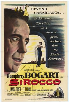 1951 movie posters | Sirocco Movie Posters From Movie Poster Shop