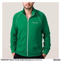 VERMONT Men's Track Jacket (Green)