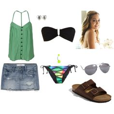 """""""Beach day with Pauly!"""" by ashleighmcmahon on Polyvore"""