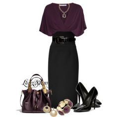 From Longstem.Polyvore.com. Love this outfit. She always puts together amazing outfits.