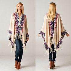 Elan | Aztec Pattern Sweater Cardigan | Aztec, Hand washing and ...