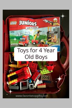 Best Gifts And Toys For 4 Year Old Boys