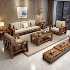 Diy Pallet Furniture, Sofa Furniture, Outdoor Furniture Sets, Tv Unit Furniture Design, Space Saving Furniture, Wooden Sofa Set Designs, Wood Design, Dressing Room Design, Wood Sofa