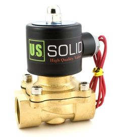 Holman 25mm solenoid valve with flow control side garden 34 brass electric solenoid valve 110 vac normally closed water air ccuart Gallery