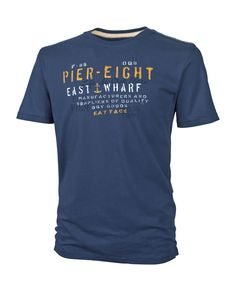 Large image of Pier Eight T-Shirt - opens in a new window