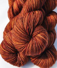 DK Yarn Indie dyed yarn Hand-dyed Yarn 100% by SimplyEweFiberworks