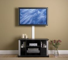 mounting your tv to the wall and hiding the cords saving space rh pinterest com