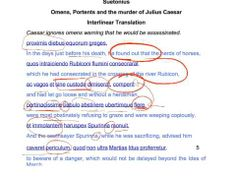 archive GCSE Latin Suetonius Caesar 1 - YouTube