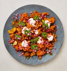 Smashed carrots and chicken koftas: Yotam Ottolenghi's recipes for sharing | Food | The Guardian Ottolenghi Recipes, Yotam Ottolenghi, Pistachio Pesto, Pickled Onions, Healthy Side Dishes, Coriander, A Food, Food Processor Recipes, Healthy Recipes