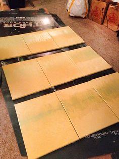 DIY 221B 'wallpaper'. Genius!